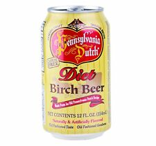 Pennsylvania Dutch Diet Birch Beer 12 oz. (24 Cans)