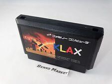 KLAX NINTENDO FAMICOM NES 8 BIT GIAPPONESE JAP JP IMPORT NTSC-J HFC-V6 CARTUCCIA