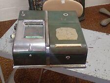 Antique UARCO United Autographic Recorder Register Receipt Writer & Cash Drawer