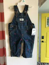 OSHKOSH BGOSH Girls Heart Denim Overalls Size 6M ~ NWT ~...