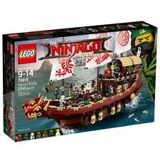 LEGO Ninjago Movie Destiny's Bounty (70618) 2295 Piece Set + Accessories