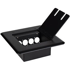 Flip Up Stage Box with Pre-Punched Panel for Four D-Style Co