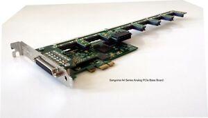 Sangoma A40108DE 2FXS 16FXO analog card w/ EC HW - PCIe