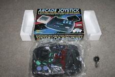 Super Nintendo Y Megadrive-Arcade Joystick 6 botón-PAL-en muy buena condición
