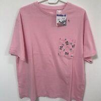 UNIQLO Inuyasha Rumiko Takahashi Manga UT WOMEN Graphic T-Shirt Tops PINK S-XL