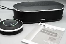 More details for yamaha yvc-1000 bluetooth & usb speakerphone certified for skype, boxed vgc!