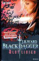 Ward - BLACK DAGGER Ewige Liebe Vampir Fantasy TB