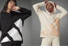 Adidas Women Sportswear LOGO HOODIE Black Peach White S M L XL  Asian Sizes
