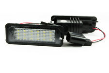 2x LUCE TARGA POSTERIORE LED PER VW EOS GOLF IV V VI VII PASSAT B6 B7 CC CAYENNE