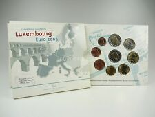 *** EURO KMS LUXEMBURG 2005 BU 2 x 2 Euro Kursmünzensatz Luxembourg Coin Set ***