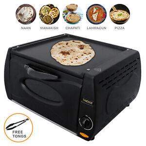 Mini Tandoor Oven Chapati Roti Lahmacun Manakish Pizza Naan Bread Maker Electric