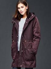 NWT GAP Women's Three-in-one parka jacket,Rich Eggplant SIZE XSP XS P    #718372