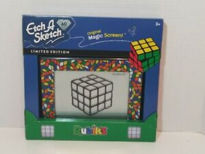 NEW Etch A Sketch RUBIK'S  *LIMITED EDITION* 60th Anniversary