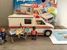 Playmobil Hospital 5952 Rescue Ambulance Lights Complete