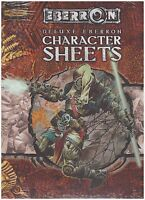 EBERRON Deluxe Character Sheets - 3.5 d20 D&D Dungeon & Dragons - New Sealed