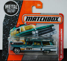2016 Matchbox - '63 Cadillac Ambulance