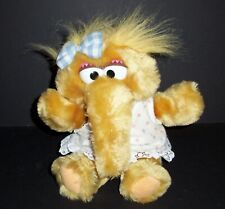 "VTG Applause Muppets Sesame Street 11"" Musical Baby Alice Plush Stuffed Animal"