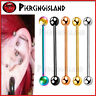 Industrial Bar Ear Cartilage 14g Barbell Ring Titanium Earring Piercing Jewelry