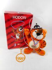 RARE 1988 KOREA OLYMPIC HODORI STUFFED TOY W/ORIGINAL BOX JOYFUL 1983