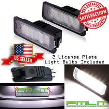 PMLIT 2 License Plate WHITE LED Lights for Volkswagen & Porsche - Error Free