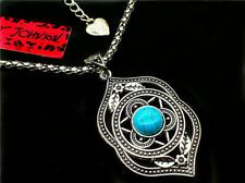 With Tags~Gift Wrapped~New Jersey~ ~Betsey Johnson Turquoise Pendant~New