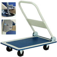 150Kg Heavy Duty Folding Trolley Cart Platform Flat Barrow Sack comfortable S247