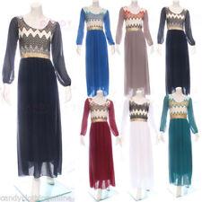 Chiffon Abaya Dresses for Women