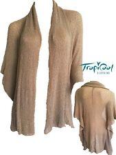 Fawn Ladies Knitwear Shrug Jacket Plus Size