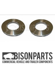 """""""VOLVO FH 440, FH12 & FH16 (2002-2009) FRONT OR  REAR BRAKE DISCS BP105-010 X 2"""