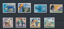 LN88675 Nauru anniversary united nations fine lot MNH