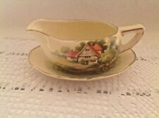 Royal Winton Grimwades small sauce boat and stand