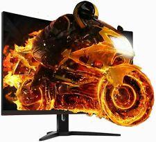 Aoc CQ32G1 31.5 Pulgadas QHD 144Hz 1ms va Panel Monitor para Juegos AMD freesync Curvo