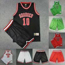 SLAM DUNK SHOHOKU Basketball Team Uniform Sportsuit Coplay Jersey Suits Unisex