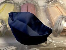 Mundschutz Maske Wiederverwendbar Mundmaske Waschbar bei 60 Grad Dunkelblau NEU
