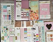 Creative Year Personal Planner by Recollections A6 w/ Accessories Huge Lot!