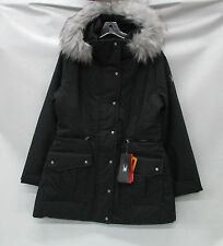 Spyder Womens Arctyc Ski Jacket 564250 Black Denim/Silver/Black Size 12
