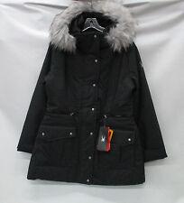 Spyder Womens Arctyc Ski Jacket 564250 Black Denim/Silver/Black Size 16