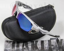 NEW OAKLEY FAST JACKET SUNGLASSES Silver frame/G30+G40 Iridium lens w/Hard Case