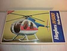 Nichimo 1/20 Hughes H-500 Helicopter mit Motor und Licht made in Japan
