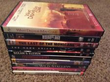 10 Dvd Lot - What Dreams May Come, Last Of Mohicans, Oceans Eleven, Wild Stallio