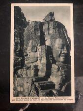 Mint Saigon Vietnam Real Picture Postcard Ruins Of Angkor