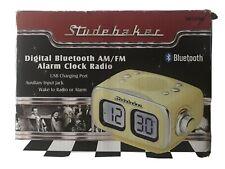 Studebaker Digital Bluetooth AM/FM Alarm Clock Radio SB3500
