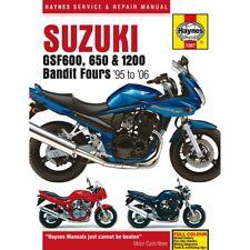 Suzuki GSF 600 S Bandit 2000 Haynes Service Repair Manual 3367