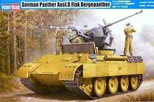 Hobbyboss 1:35 Panther Ausf.D Flak Bergepanther German AA SPG Model Kit