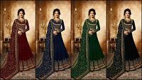 Salwar Kameez Indian Pakistani Suit ethnic Anarkali Dress Designer Party Wear AC