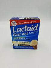 Lactaid Fast Act 32 Chewables Tablets NIB