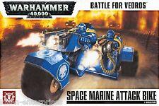 Warhammer 40,000 Battle for Vedros Space Marines Attack Bike 20-06 40K