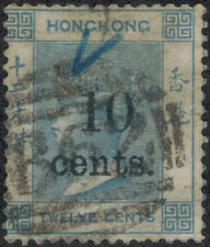 TMM* 1879-80 Hong Kong Victoria F/VF S#33 used/light hinge/medium cancel