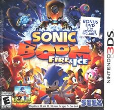 Sonic Boom: Fire & Ice -- Launch Edition - With Bonus DVD (Nintendo 3DS, 2016)