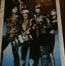KISS Spirit Of '76 Poster Print By Barry Levine Gallery 1997 Rolled Fine + Cond.